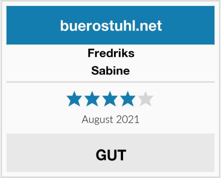Fredriks Sabine Test