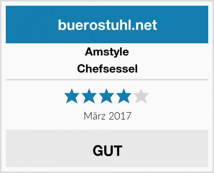 Amstyle Chefsessel Test