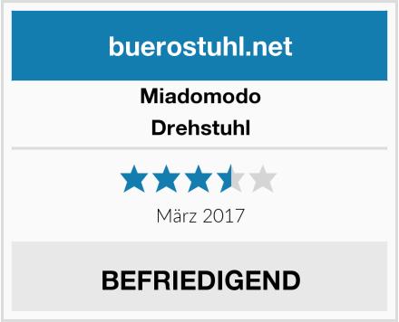 Miadomodo Drehstuhl Test