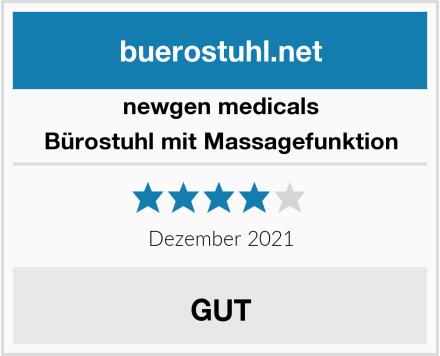 newgen medicals Bürostuhl mit Massagefunktion Test