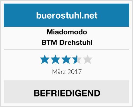 Miadomodo BTM Drehstuhl Test