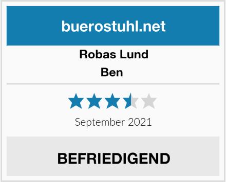 Robas Lund Ben  Test
