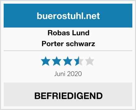 Robas Lund Porter schwarz Test