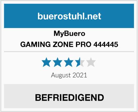 MyBuero GAMING ZONE PRO 444445 Test