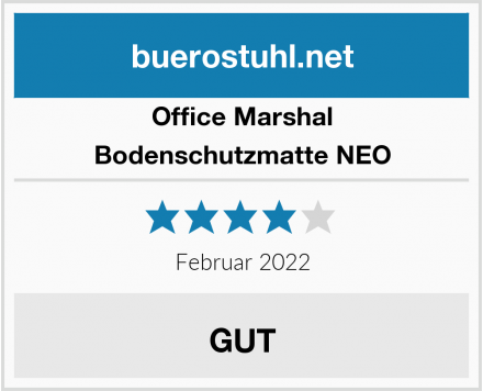 Office Marshal Bodenschutzmatte NEO Test