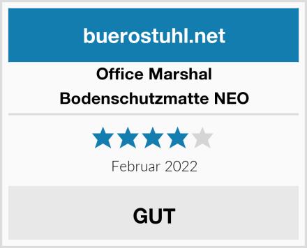 Office Marshal Bodenschutzmatte NEO Test