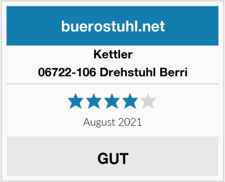 Kettler 06722-106 Drehstuhl Berri Test