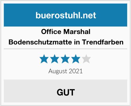 Office Marshal Bodenschutzmatte in Trendfarben Test