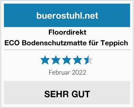 Floordirekt ECO Bodenschutzmatte für Teppich  Test