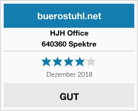 HJH Office 640360 Spektre Test