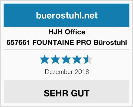 HJH Office 657661 FOUNTAINE PRO Bürostuhl Test