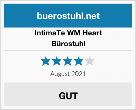 IntimaTe WM Heart Bürostuhl Test