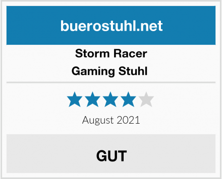 Storm Racer Gaming Stuhl  Test