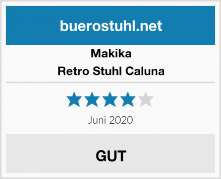 Makika Retro Stuhl Caluna Test