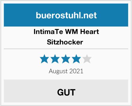 IntimaTe WM Heart Sitzhocker  Test