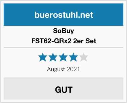 SoBuy FST62-GRx2 2er Set Test