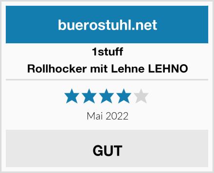 1stuff Rollhocker mit Lehne LEHNO Test