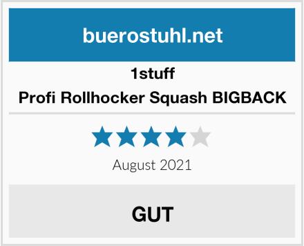 1stuff Profi Rollhocker Squash BIGBACK Test