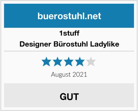 1stuff Designer Bürostuhl Ladylike Test