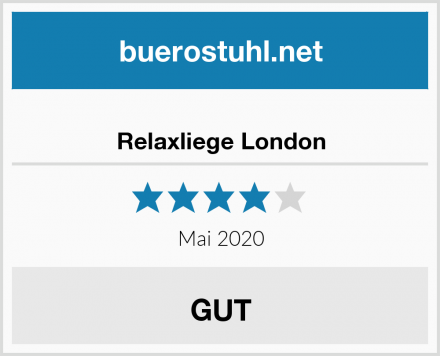 Relaxliege London Test
