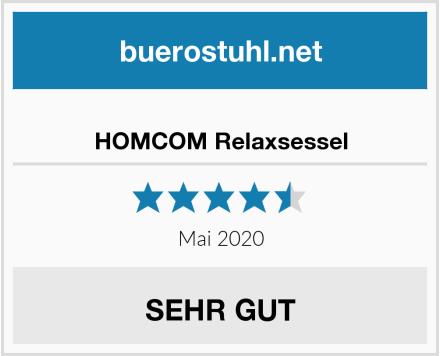 HOMCOM Relaxsessel Test