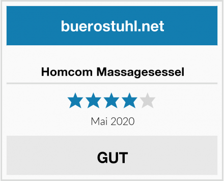No-Name Homcom Massagesessel Test