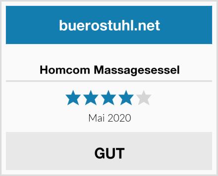 Homcom Massagesessel Test