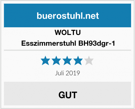 WOLTU Esszimmerstuhl BH93dgr-1 Test