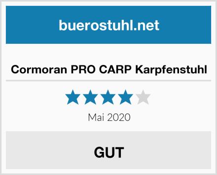 Cormoran PRO CARP Karpfenstuhl Test