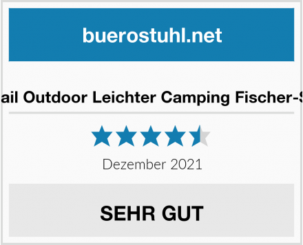 No-Name Foxtail Outdoor Leichter Camping Fischer-Stuhl Test