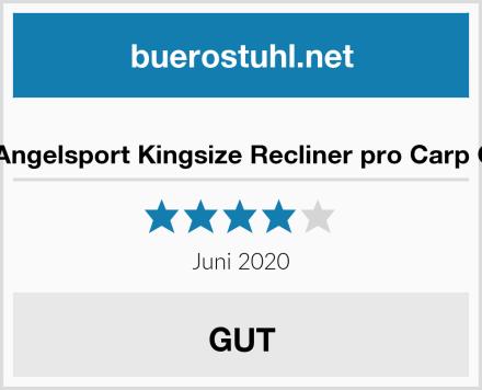 MK-Angelsport Kingsize Recliner pro Carp Chair Test
