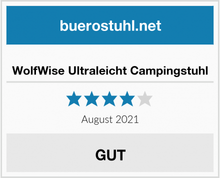 No-Name WolfWise Ultraleicht Campingstuhl Test