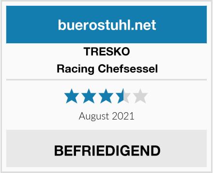 TRESKO Racing Chefsessel Test