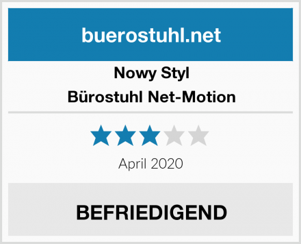Nowy Styl Bürostuhl Net-Motion Test