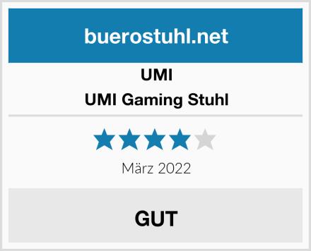 UMI UMI Gaming Stuhl Test