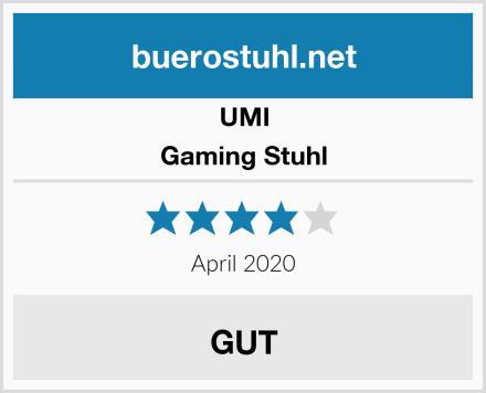 UMI Gaming Stuhl Test