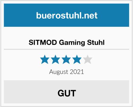 SITMOD Gaming Stuhl Test