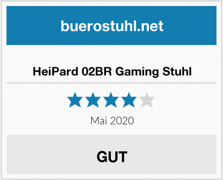 HeiPard 02BR Gaming Stuhl Test