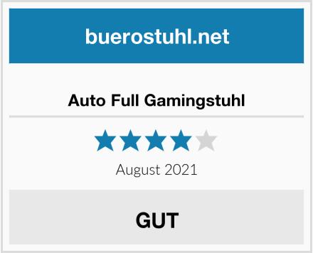 Auto Full Gamingstuhl Test
