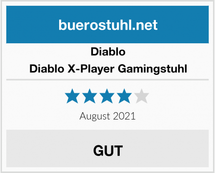 Diablo Diablo X-Player Gamingstuhl Test
