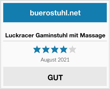 Luckracer Gaminstuhl mit Massage Test