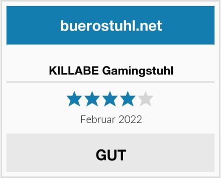 KILLABE Gamingstuhl Test