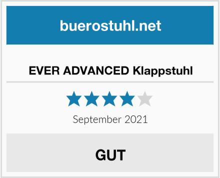 EVER ADVANCED Klappstuhl Test