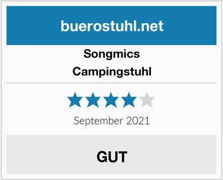 Songmics Campingstuhl Test