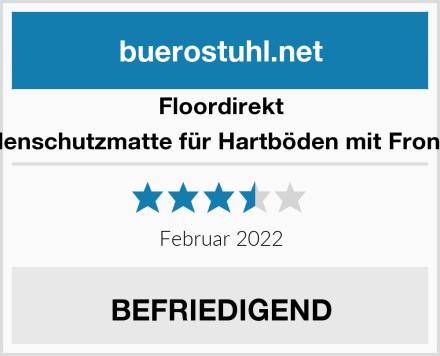 Floordirekt V Bodenschutzmatte für Hartböden mit Frontlippe Test