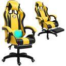 Grykon Computer-Gaming-Stuhl mit Massage