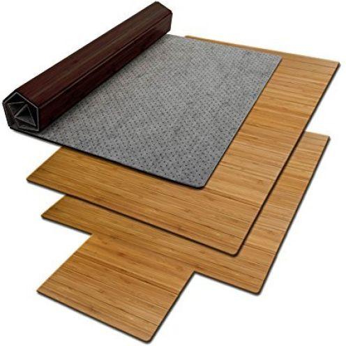 Floordirekt ECO Bodenschutzmatte aus Bambus