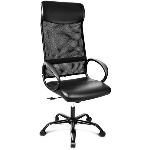 INTEY Bürostuhl mit hoher Rückenlehne